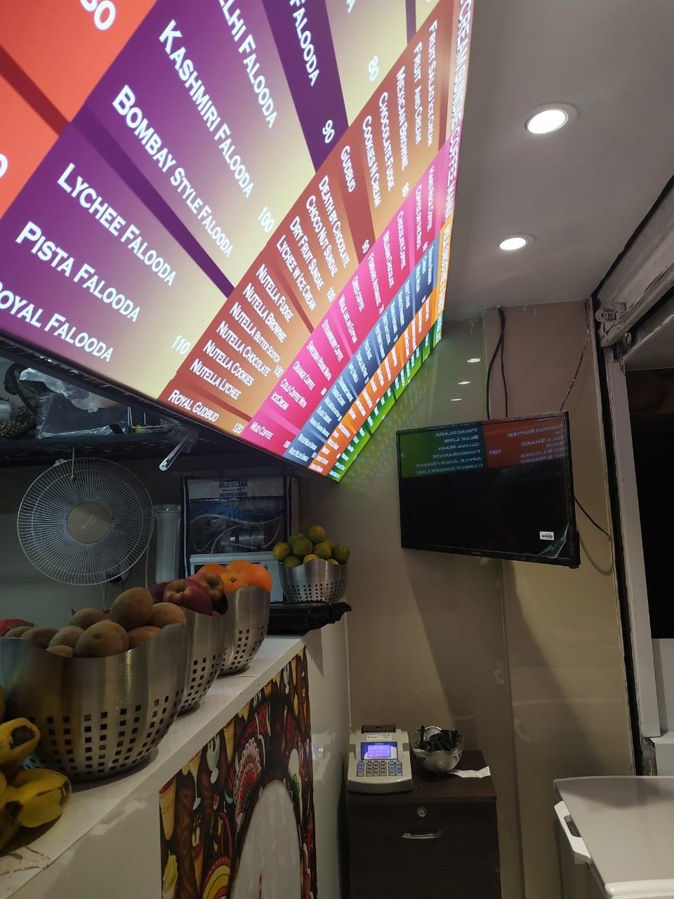 Lassighar Shop menu